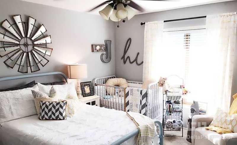 اتاق خواب مشترك كودك و والدين
