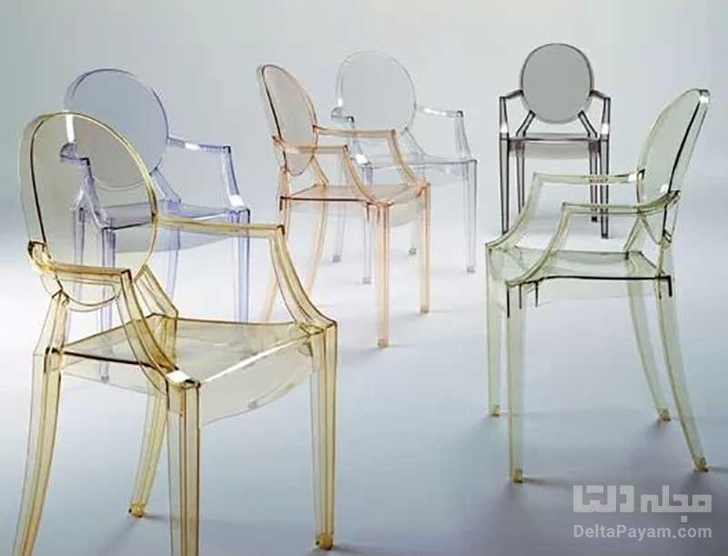 صندلی شفاف