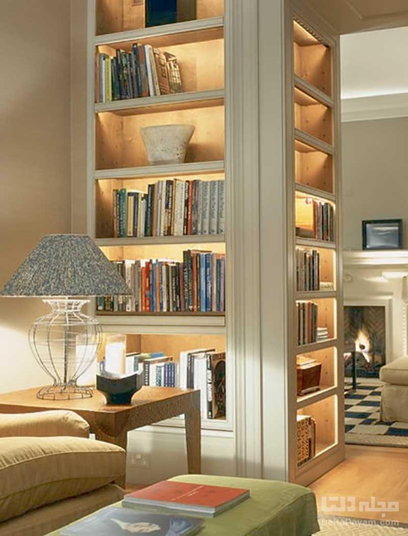 نورپردازی کتابخانه
