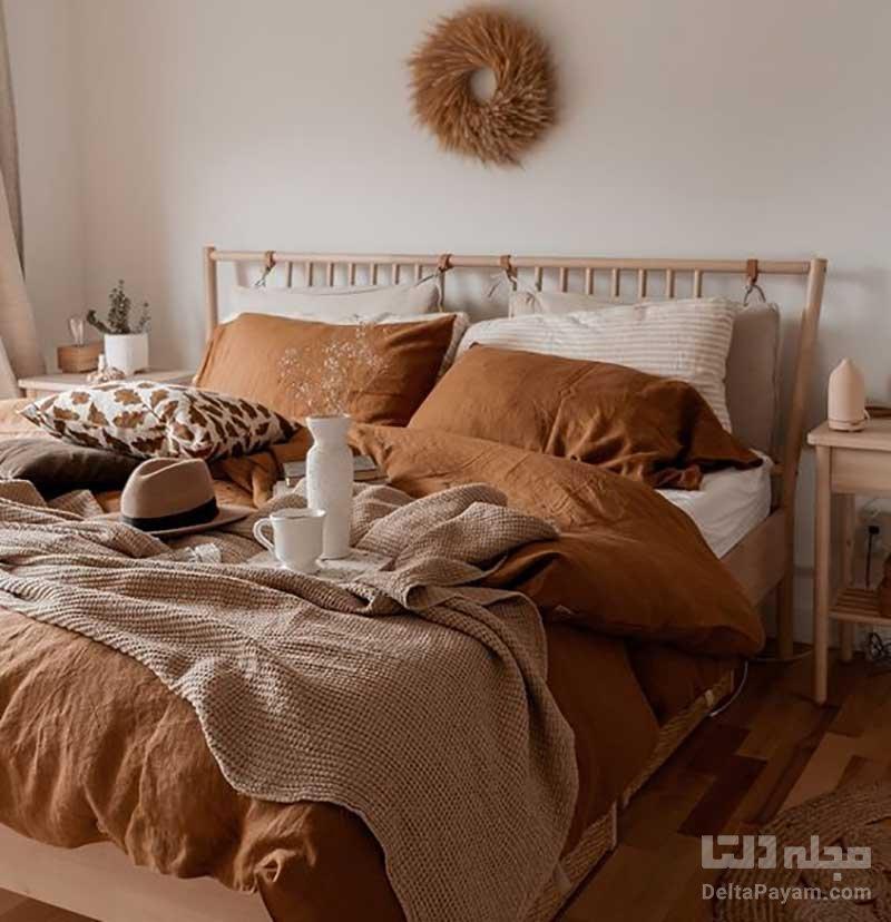اتاق خواب پاييزي