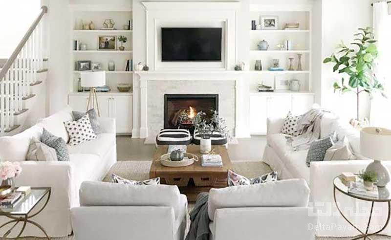 دکوراسیون سفید رنگ