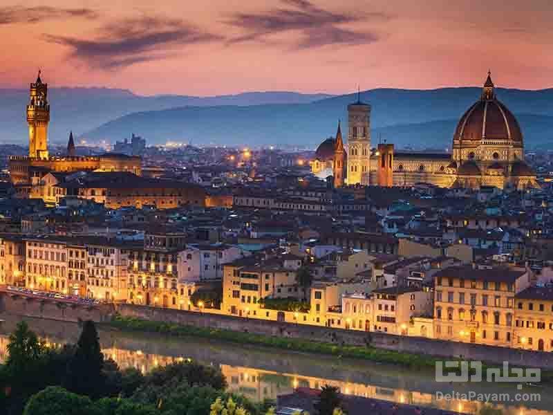 آشنايي با شهر فلورانس Florence