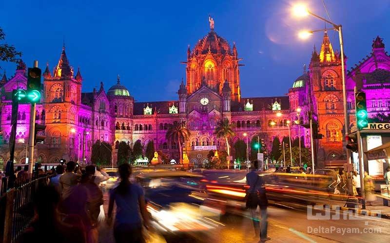 بمبئی، هند یکی از شهرهای 24 ساعته جهان