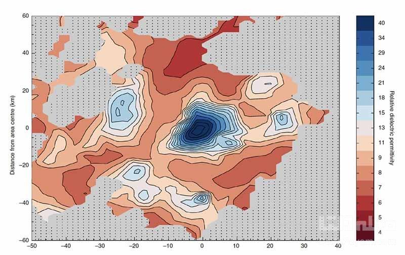 آب مایع در قطب جنوب مریخ
