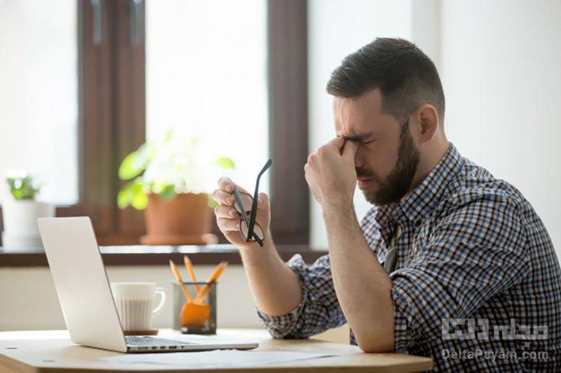 علت خستگی چشم