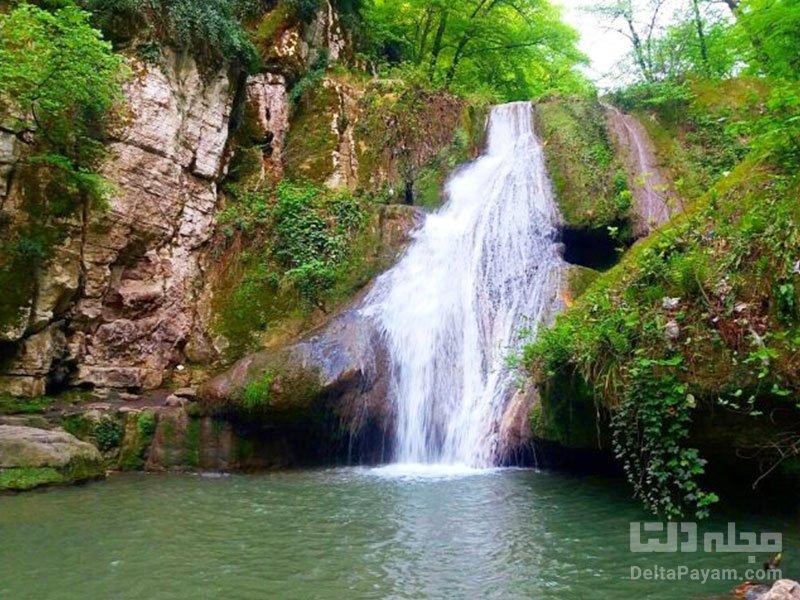 آبشار لوه آبشار لوه در گلستان