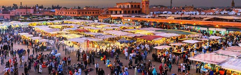 گردشگری مراکش بارارها