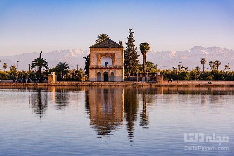 گردشگری مراکش باغ های مناره