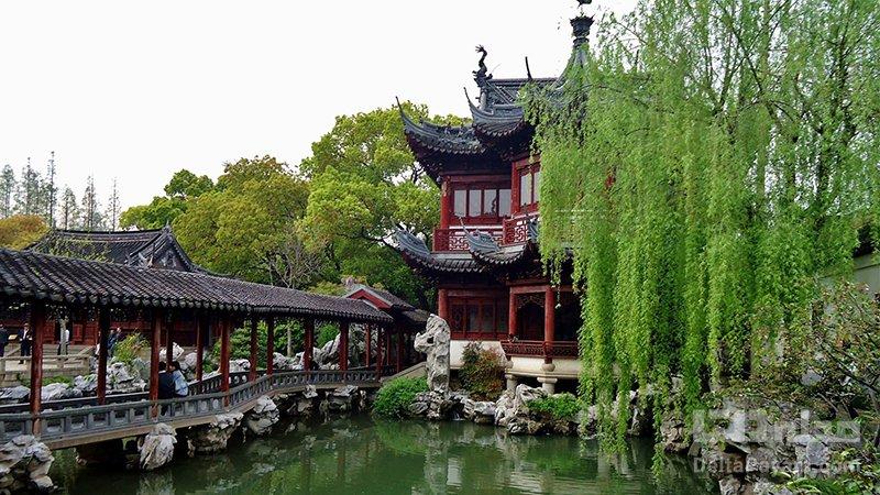 جاذبه های گردشگری شانگهای باغ یو