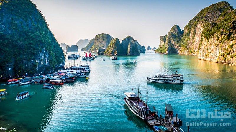 تفریحات ویتنام تفریحات آبی در خلیج ها لونگ