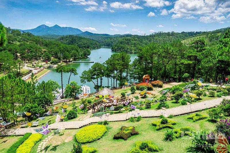 تفریحات ویتنام پیادهروی و دوچرخهسواری در اطراف دا لات