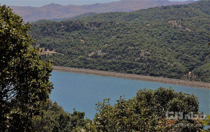 دریاچه سد بانه