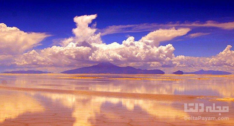 دریاچه نمک بولیوی از جاذبه های گردشگری بولیوی