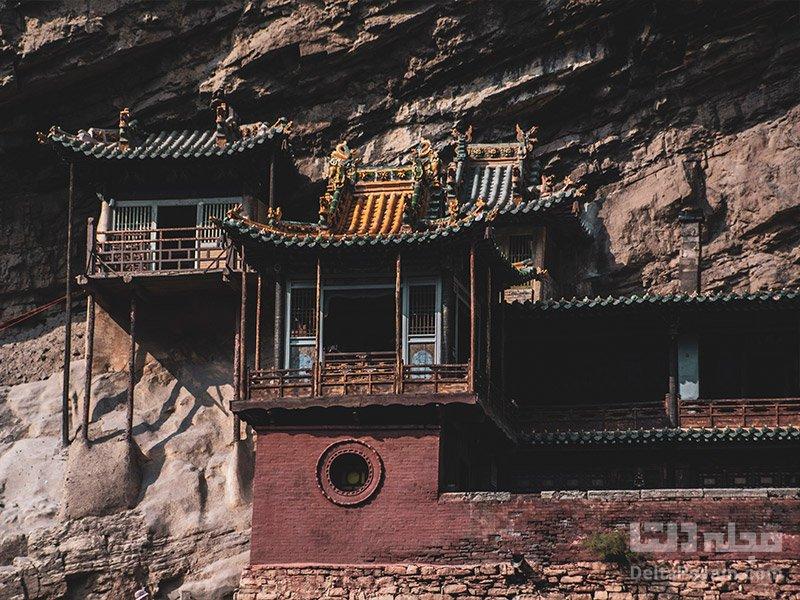ساختار معبد شوان کونگ چگونه است؟