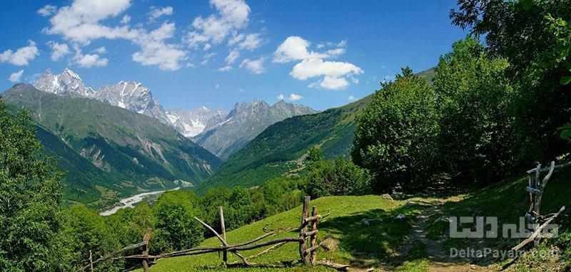 سفر به گرجستان طبیعت بینظیر گرجستان
