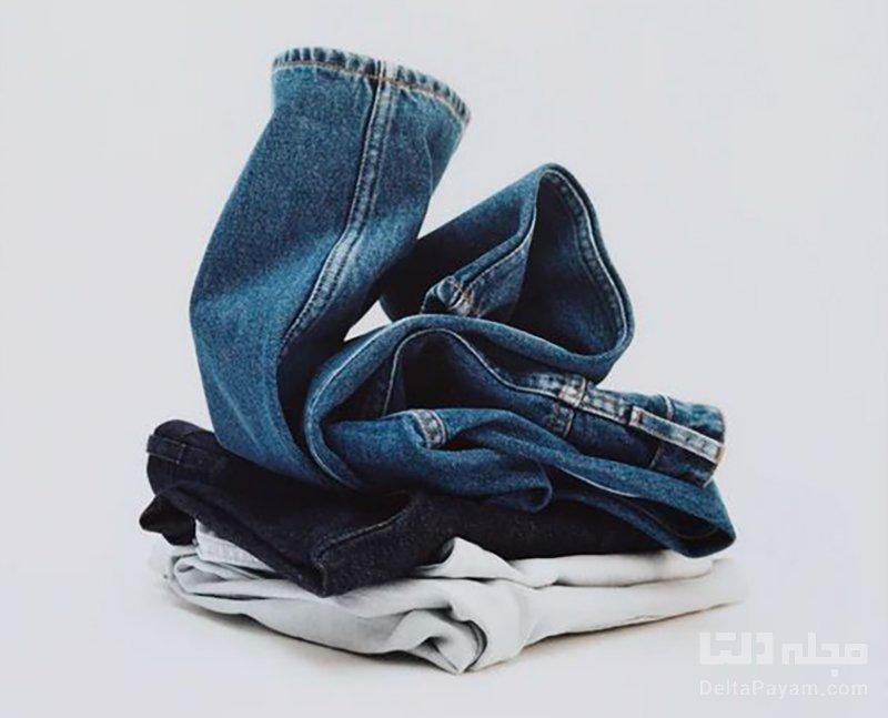 شستن شلوار جین دستی