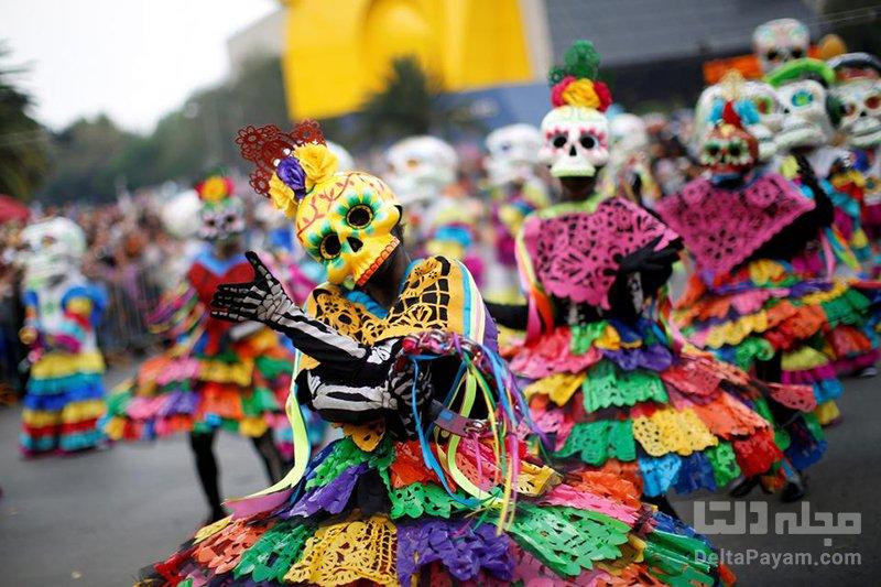 فستیوالهای رنگی و عجیب مکزیک