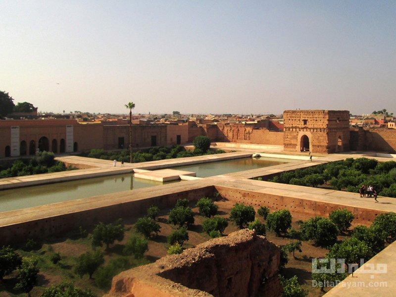 گردشگری مراکش قصر البدیع