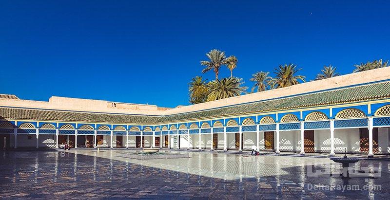 گردشگری مراکش قصر باهیه