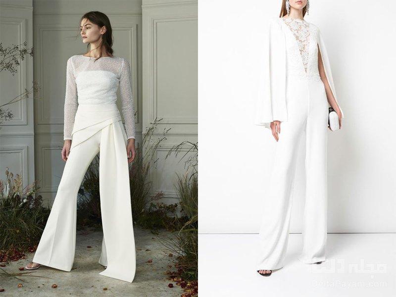 لباس شب سفید سایه ها
