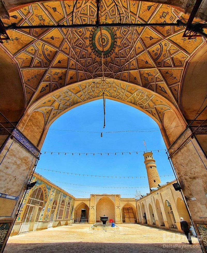 جاذبه های تاریخی کاشان مسجد جامع کاشان