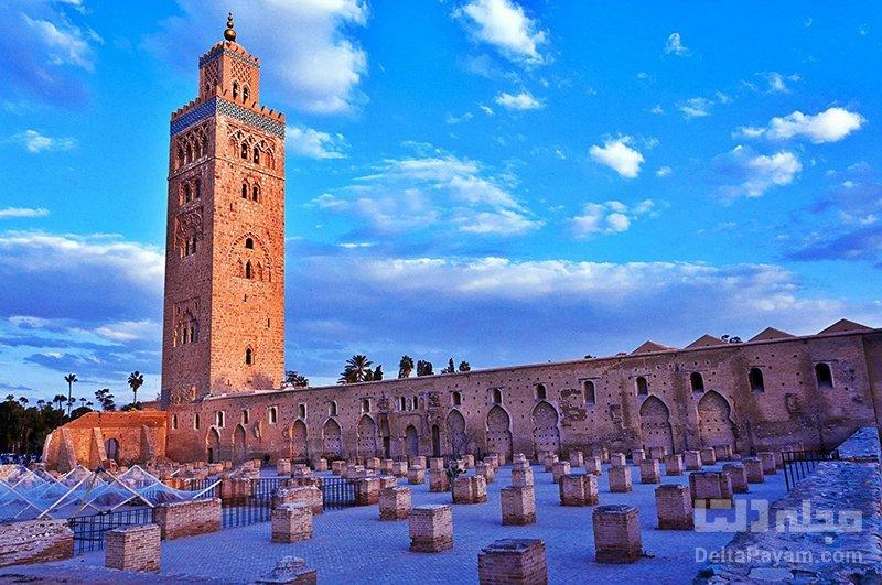 گردشگری مراکش مسجد کتیبه