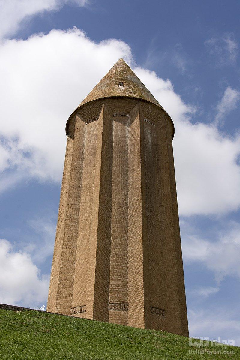 معماری برج گنبد قابوس