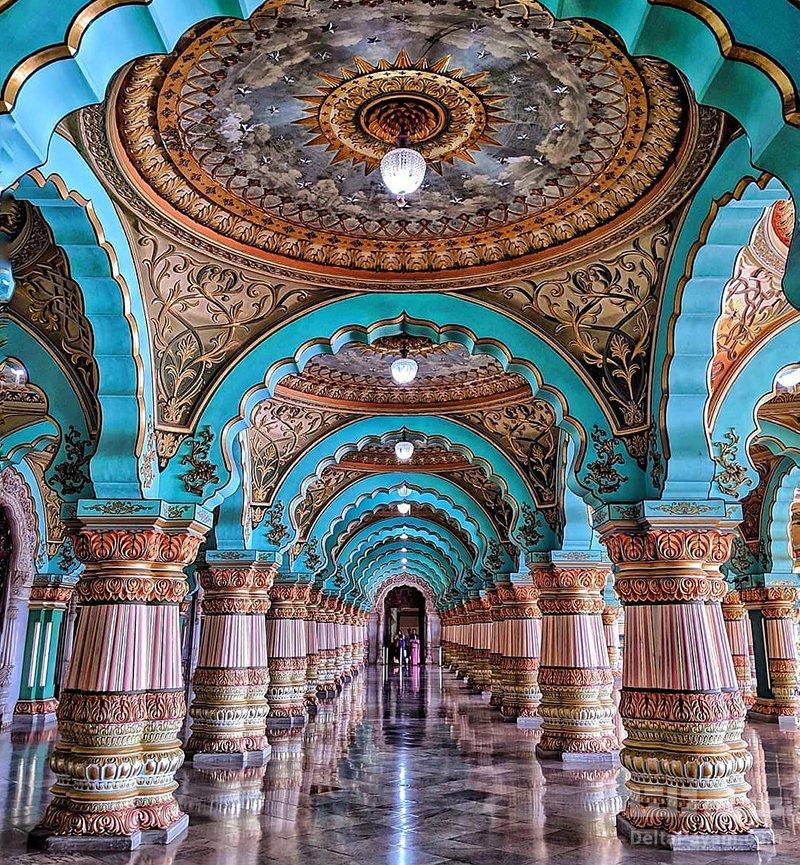 معماری قصر میسور