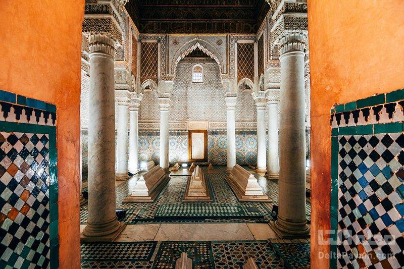 گردشگری مراکش مقبره های سعدیان