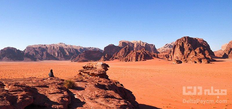 وادی روم اردن خودتان را در وادی روم اردن غرق کنید