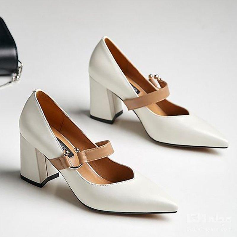 کفش پاشنه بلند مناسب بلوکی