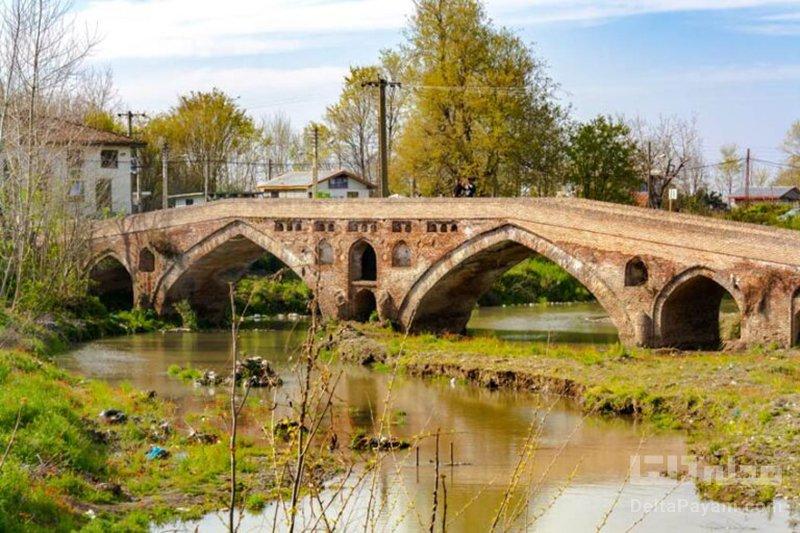 پل خشتی تمیجان، اثری به جا مانده از دوره صفوی