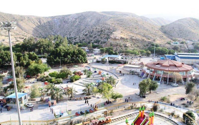 چشمه آبگرم گنو امكانات و خدمات رفاهي