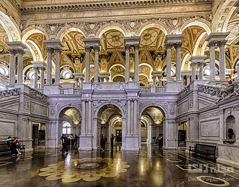 کتابخانه کنگره کتابخانه کنگره آمریکا