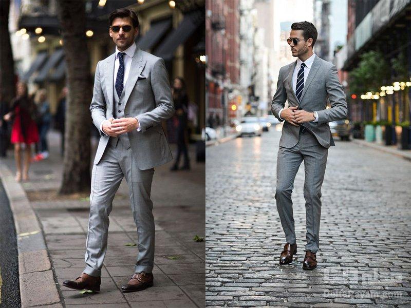 کت و شلوار با کراوات