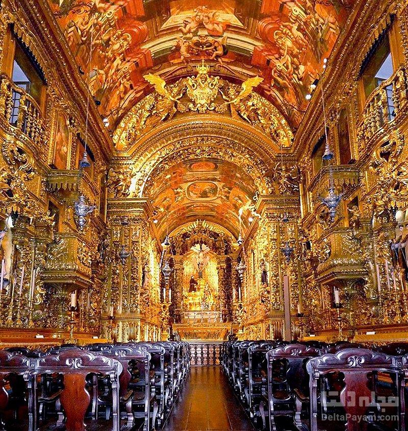 گردش در پرتغال کلیسای سائو فرانسیسکو