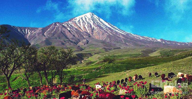 کوه دماوند کوه ایران