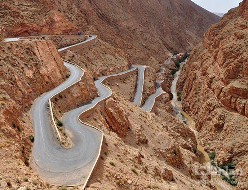 گردشگری مراکش گذرگاه های کوهستانی نتیشکه