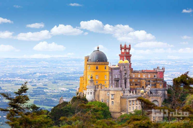گردش در پرتغال کاخ ملی پنا