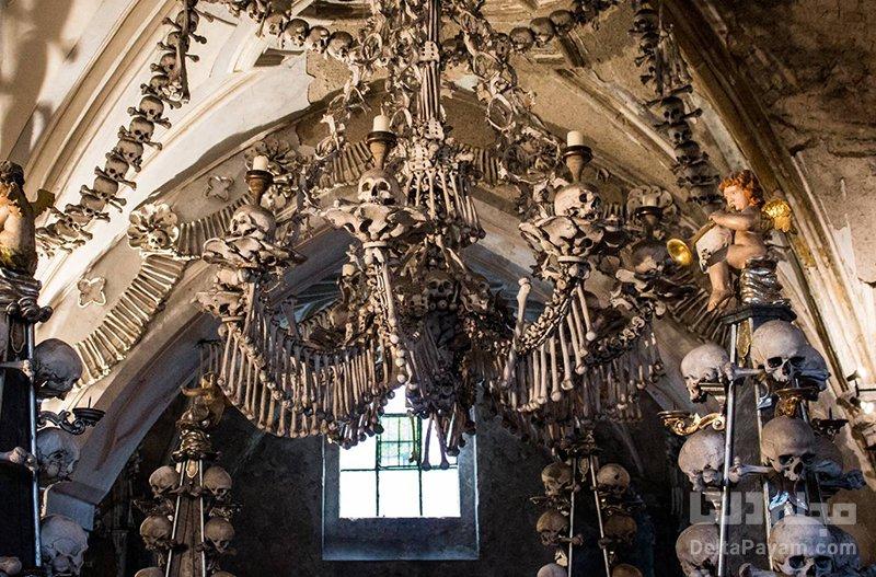 گردش در پرتغال کلیسای کوچک استخوان