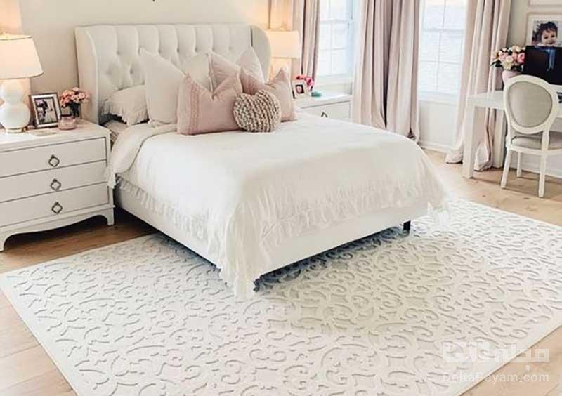 انتخاب فرش اتاق خواب