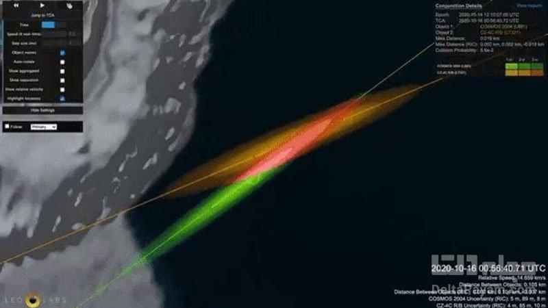 ماهواره قدیمی شوروی و راکت بوستر چینی