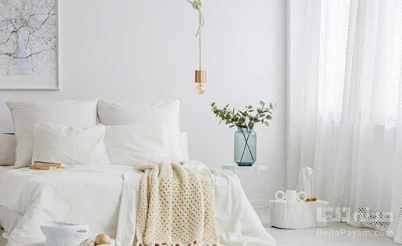 اتاق خواب مينيمال