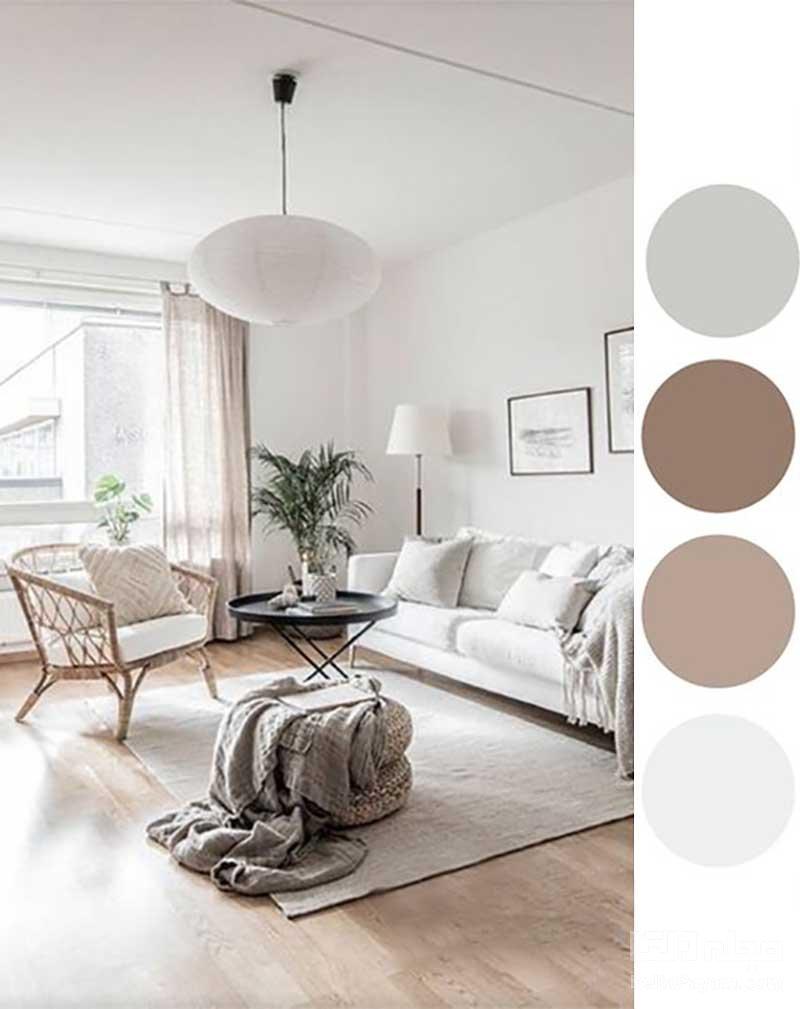 پالت رنگ خانه