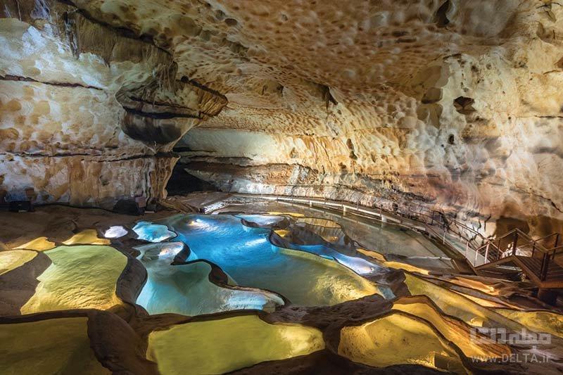 غار سنت مارسل حیرتانگیز در فرانسه از مکان های عجیب در دنیا
