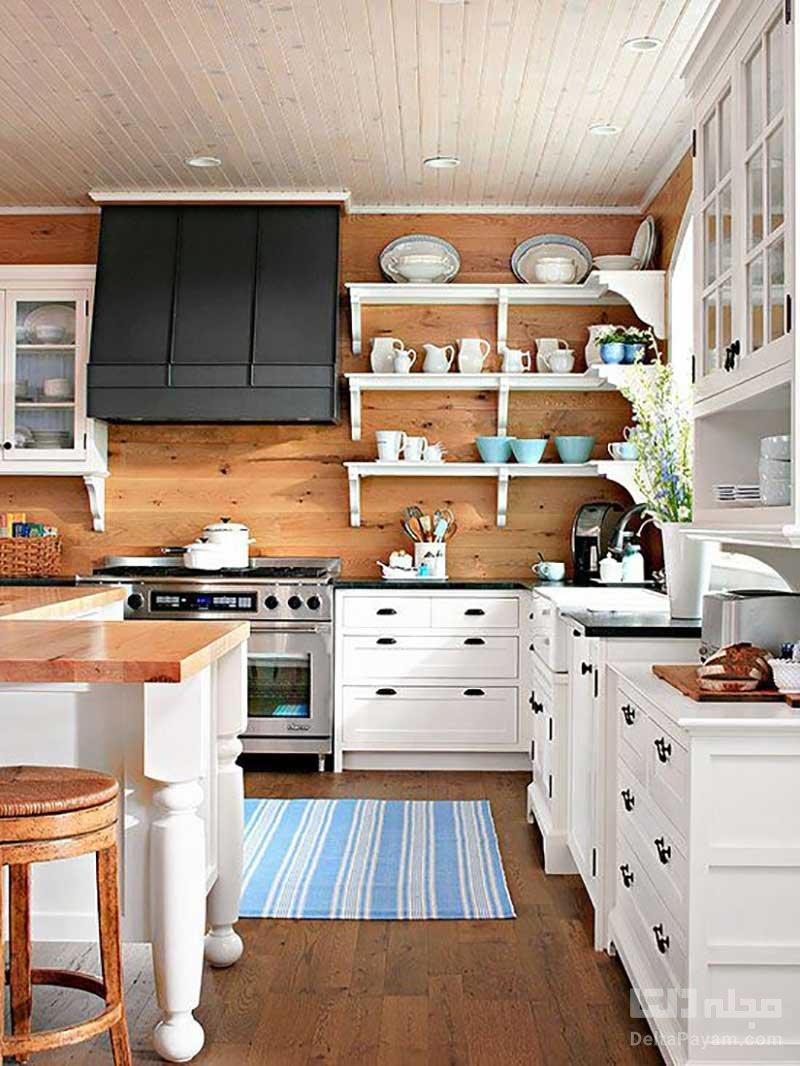 پوشش چوبی برای آشپزخانه