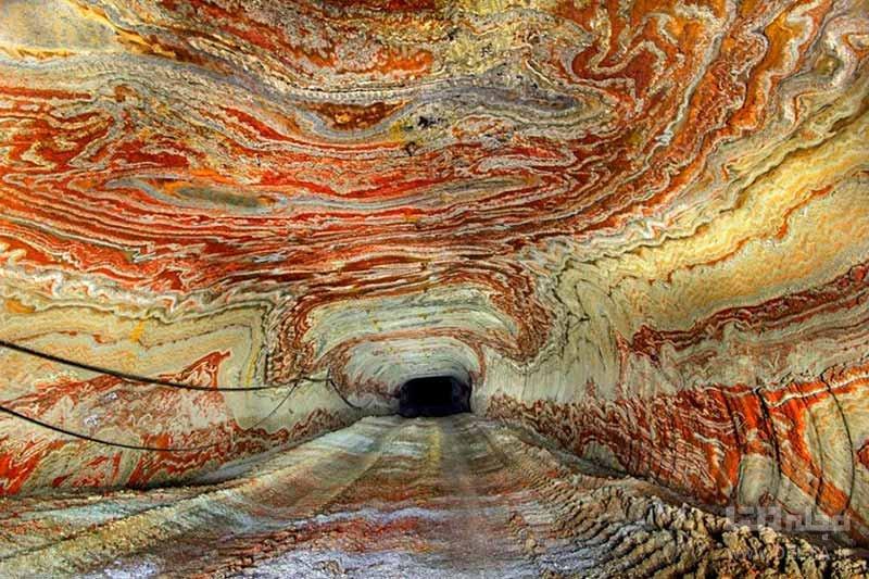 معدن نمک Yekaterinburg در روسیه از مکان های عجیب دنیا