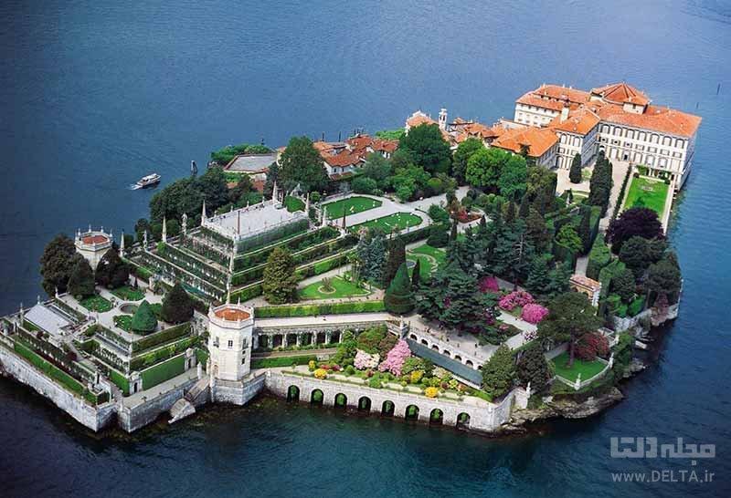 جزیره ایزولا بلا (Isola Bella) در ایتالیا از مکان های عجیب دنیا