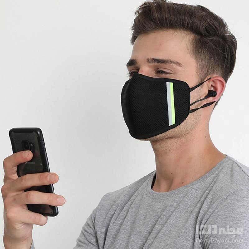 ساخت ماسک مجهز به هدفون
