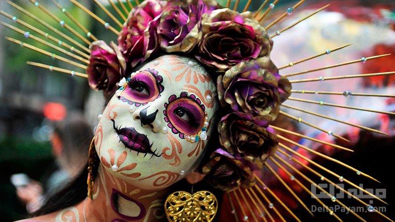 فستیوالهای رنگی و عجیب مکزیکdia-de-los-muertos